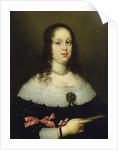 Portrait of Vittoria della Rovere, Grand Duchess of Tuscany by Justus Sustermans