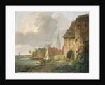 The March Gate in Buxtehude by Adolph Kiste