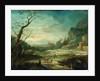 Oriental Landscape by Johann Holst