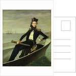 Portrait of a Young Danish Naval Officer by Bernhard Axel Bendixen
