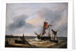 Coastal View by Louis Verboeckhoven