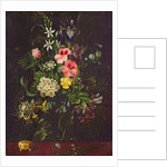 Vase of Flowers by A. Viedebant