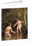 Bathing Boys by Pierre Edouard Frere