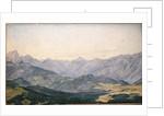 Mountain Valley in Oberbayern, 1829 by Hermann Kauffmann