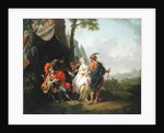 The Abduction of Briseis from the Tent of Achilles, 1773 by Johann Heinrich Tischbein