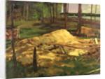 Sawdust Pit by Carl Schuch