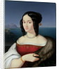 Carolina Grossi, the first Wife of the Artist by Peter von Cornelius