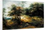Forest Landscape with Ambush by Jacques Fouquieres