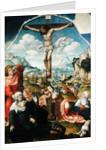 The Crucifixion by Jan Gossaert