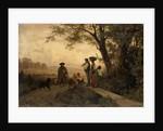 Returning Shepherd by Karl Schlesinger
