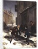 Children Chasing a Rat by Andre Henri Dargelas