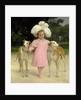 Alice Antoinette de la Mar, aged five by Jan van Beers