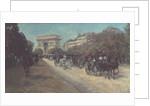 Boulevard in Paris by Georges Stein