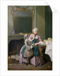The Reading Lesson by Louis Aubert