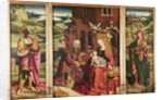Adoration of the Magi by Flemish School