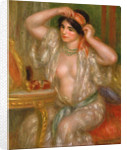 Gabrielle at the Mirror by Pierre Auguste Renoir
