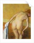 Femme Prennant au Bain by Edgar Degas