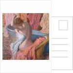 Bather by Edgar Degas