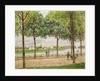 Les Promenade des Marronniers, St Cloud by Alfred Sisley