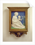 Madonna of the Lilies by Luca Della Robbia