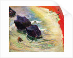 The Wave by Paul Gauguin