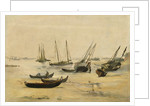 Beach, Low Tide by Edouard Manet