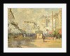 Gare Saint Lazare by Claude Monet