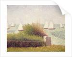 La Rade de Grandcamp' by Georges Pierre Seurat