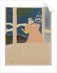 At the Ambassador Theatre, c. by Henri de Toulouse-Lautrec