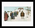Going to Church, 1941 by Newell Convers Wyeth