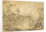 Landscape with a Rustic Bridge by Francois Boucher