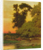 Sunset, Pompton, NJ by George Snr. Inness