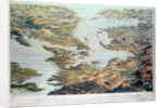 Panoramic view of the Baltic Sea and the Route of the Fleet from Spithead to St. Petersburg by Thomas Packer