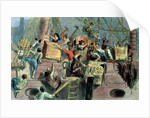 Boston Tea Party by Unknown