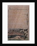 Songs of Experience; A Poison Tree by William Blake