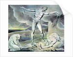 Illustrations of the Book of Job; Satan smiting Job with Sore Boils by William Blake