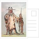 Blackfoot Indian Pe-Toh-Pee-Kiss, The Eagle Ribs by George Catlin