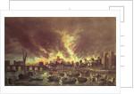 The Great Fire of London by Lieve Verschuier