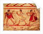 Etruscan musicians by Etruscan Etruscan