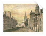 The High Street, Oxford by John Skinner Prout