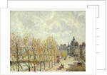 The Malaquais Quay in the Morning, Sunny Weather by Camille Pissarro