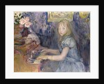 Lucie Leon at the Piano by Berthe Morisot