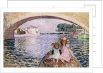 In the Boat, 1903 by Henri Lebasque