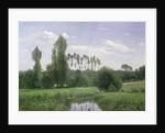 View at Rouelles by Claude Monet