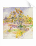 The Clearing by Pierre Auguste Renoir