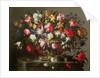 Basket with Flowers by Juan de Arellano