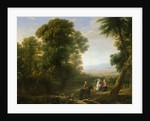The Rest on the Flight into Egypt by Claude Lorrain