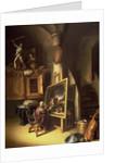 An Artist in his Studio by Dutch School