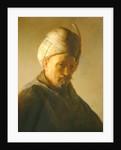 Portrait of a man in a turban by Rembrandt Harmensz. van Rijn