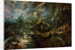 Landscape with Philemon and Baucis by Peter Paul Rubens